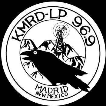 KMRD Raven circle sticker